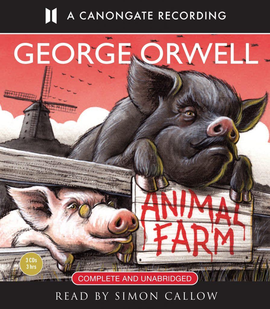 animal farm cd audio cover 9781906147464