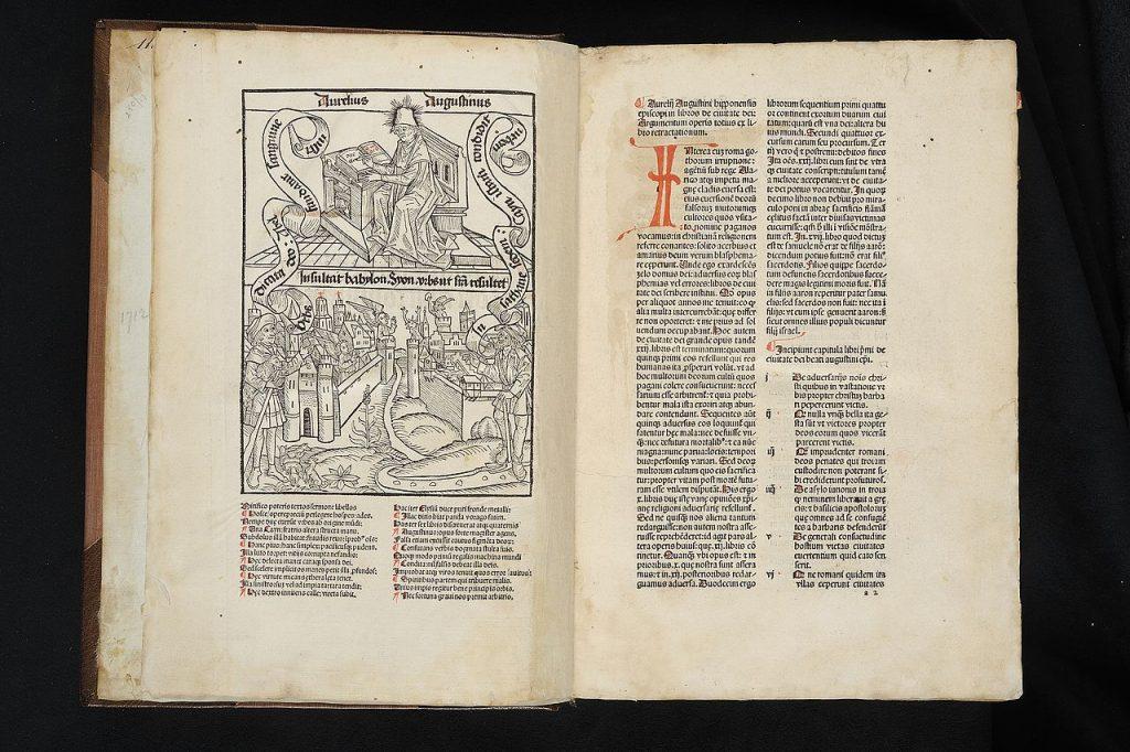 de civitate dei the city of god 1475