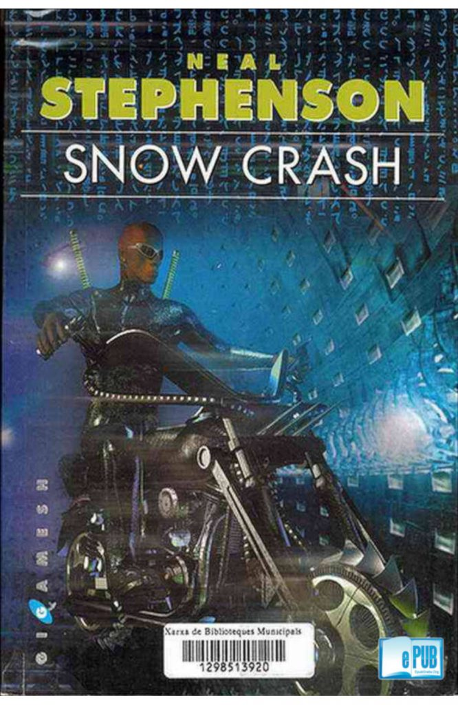 snow crash neal stephenson portada s